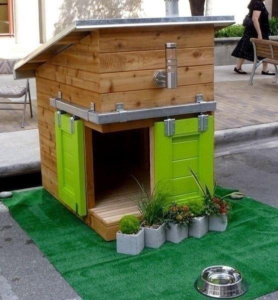 kreatív kutyaház