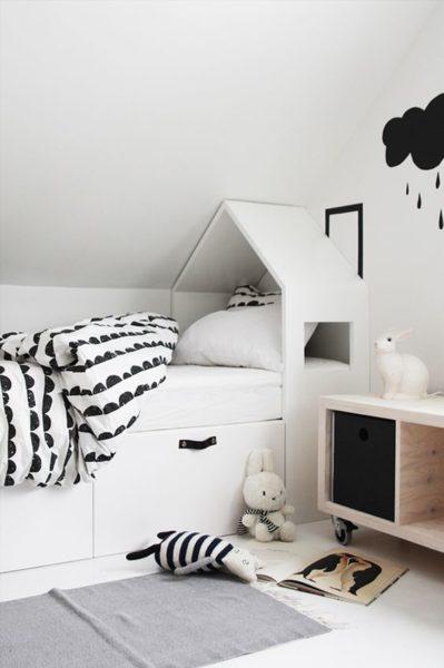 Gyerekszoba ötletek: nyuszifül és házikó » Hobbibol.com
