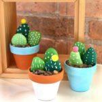 Kőfestés: kaktuszok