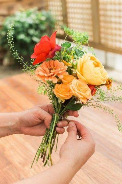 Virágos dekoráció