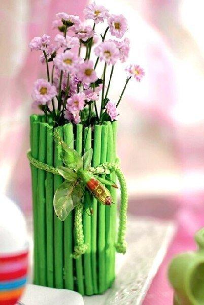 Virágváza dekoráció