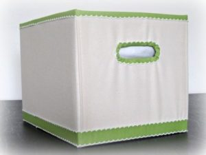 Kartondoboz dekorálása