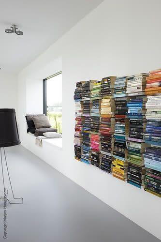 dekoráció könyvekkel