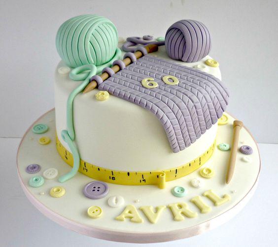 Kézimunkázós torták