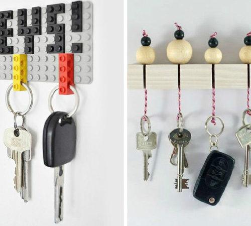 ötlet lakáskulcsok tárolására