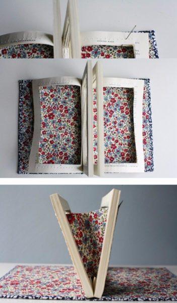 könyvből kreatív retikült