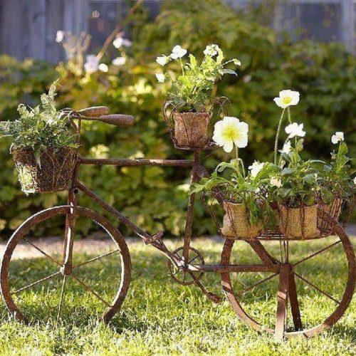 Biciklis dekorációk