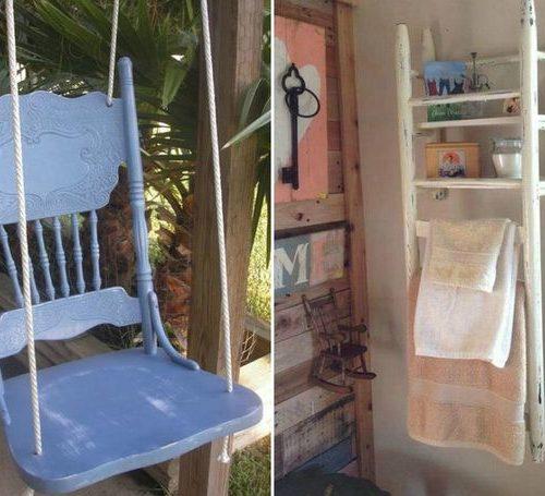 Régi szék újrahasznosítása