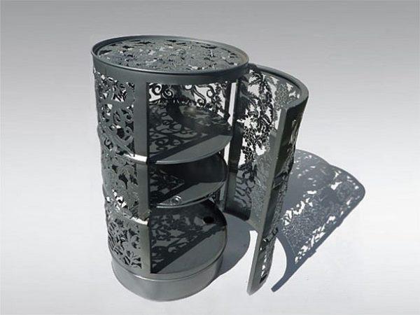 bútorok tartályból