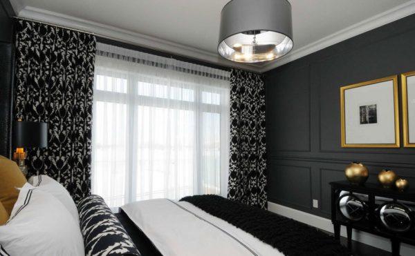 fekete hálószoba