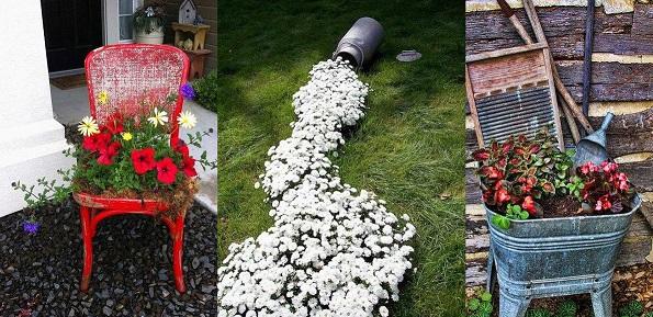 Virágos kert ötletek