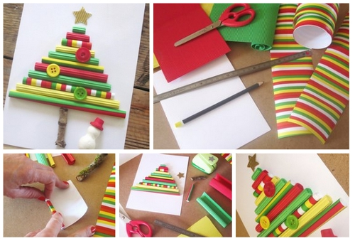 Karácsonyi képeslapok saját kezűleg