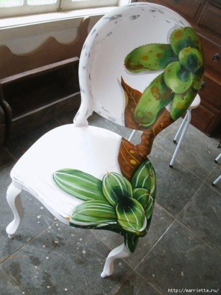 Dekupázs székre