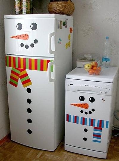 hóember dekoráció