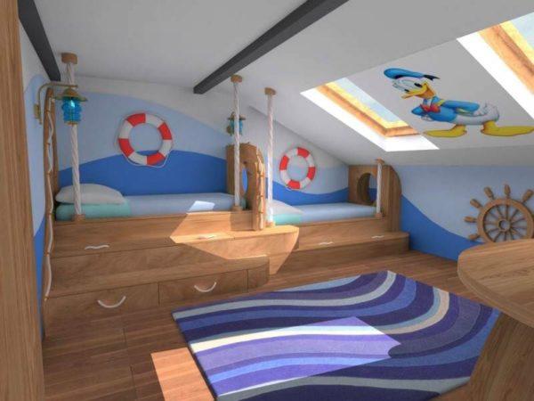 Tetőtéri gyerekszoba ötletek » Hobbibol.com