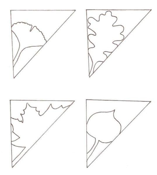Őszi papírdísz
