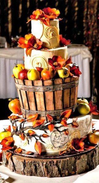 Csodaszép őszi tortadíszítés ötletek.  Természetközeli tortadíszítés őszre hangolódva, nézzétek ezeket a csodás műveket: