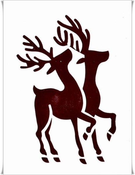 Karácsonyi rajzsablon