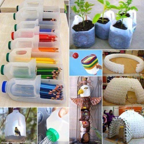 Kreatív újrahasznosítási ötletek