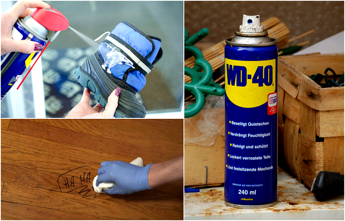 mire jó a WD-40 spray