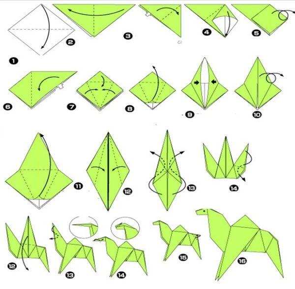 Origami teve