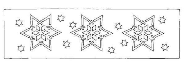 Karácsonyi papírdekoráció