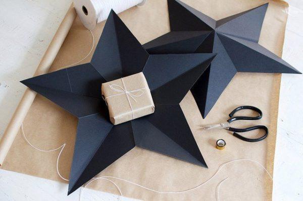 DIY ajándékdoboz: csillag
