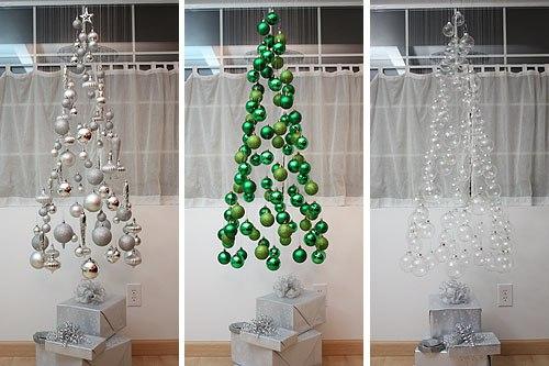 Függő karácsonyfa