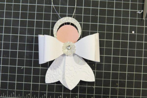 Papír angyalkák