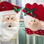 Karácsonyi szék huzat ötletek