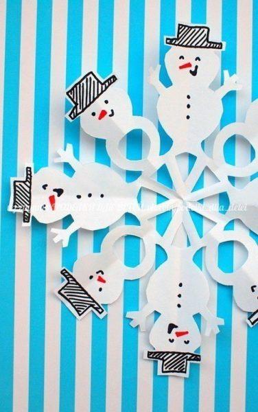 hóember-hópehely