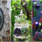 20 látványos kerti dekoráció saját kezűleg újrahasznosított tárgyakból