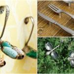 Kreatív ötletek: evőeszköz újrahasznosítás