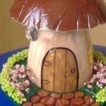 Kerti dekoráció gipszből