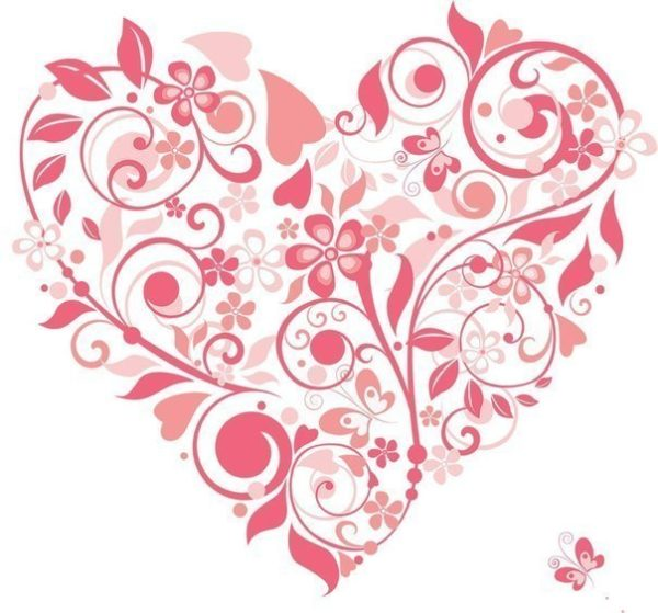Szív sablon