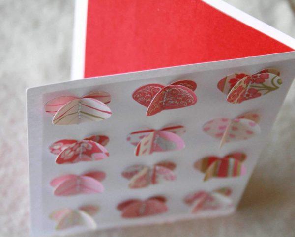 Valentin napi képeslap készítés