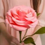Krepp papír virág készítés lépésről lépésre rengeteg ötlettel