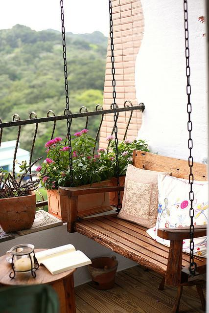 Virágos erkélyek