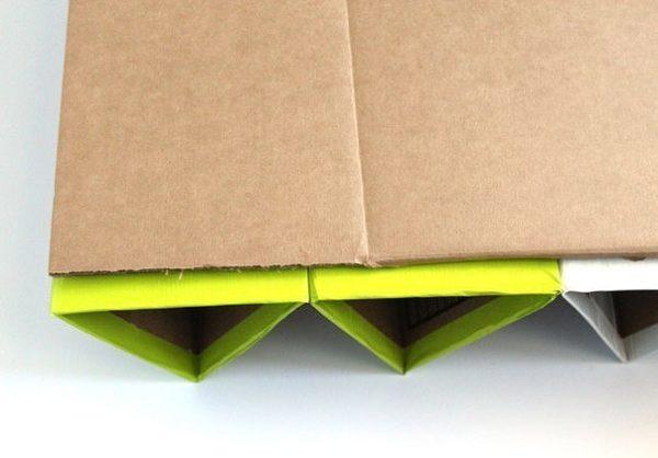Cipőtartó kartonpapírbólI