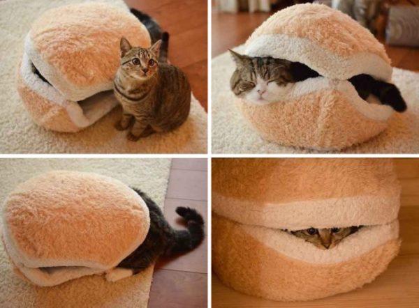 Székre akasztható függőágy cicának