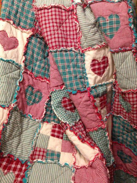 Valentin-napi patchwork