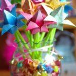 Origami tulipánok