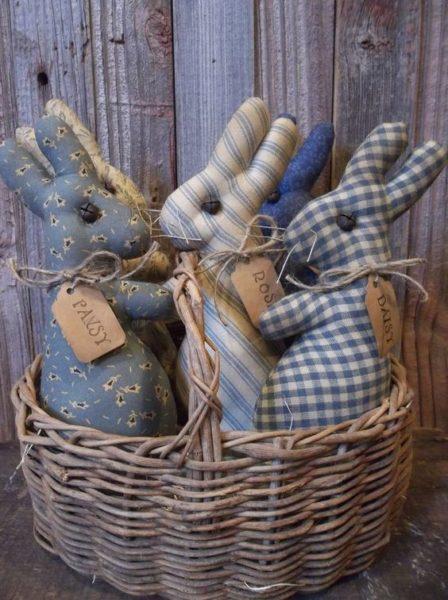 Húsvéti textil nyuszi