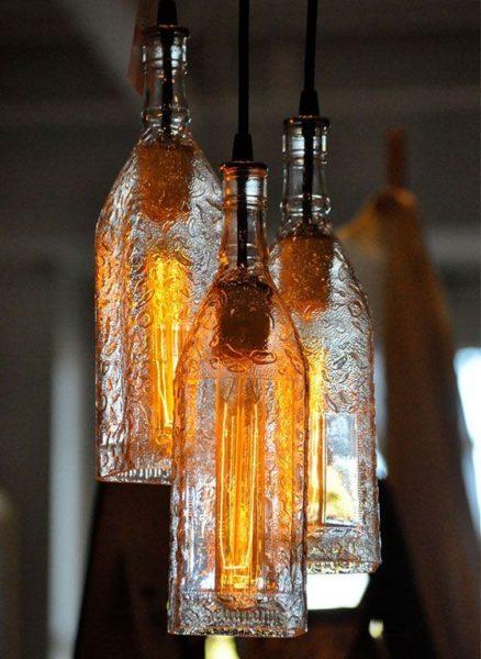 Egyszerű ötletek üveg újrahasznosításra