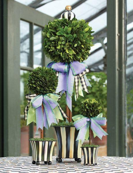 Topiary készítés házilag