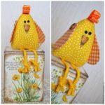 Kreatív húsvéti csibe
