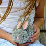 Pompon nyuszik húsvétra