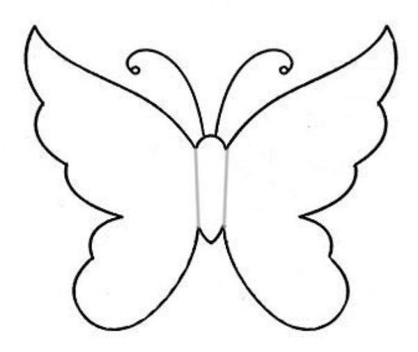 Papír pillangókból falikép