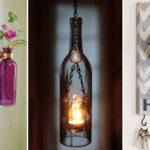 20 különleges ötlet üvegek és palackok kreatív újrahasznosítására