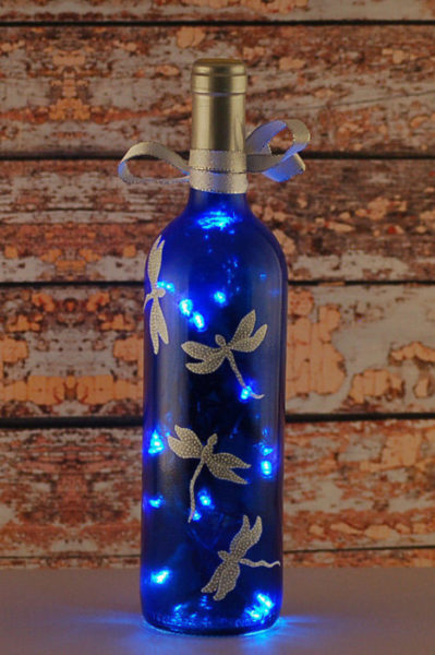 üvegek és palackok kreatív újrahasznosítása